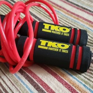 TKO weighted jump rope